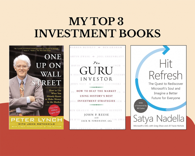 My Top 3 Investment Books